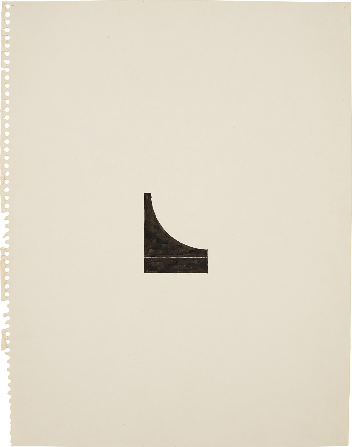 Richard Tuttle-No. 127, 60 Center Works (4)-1975