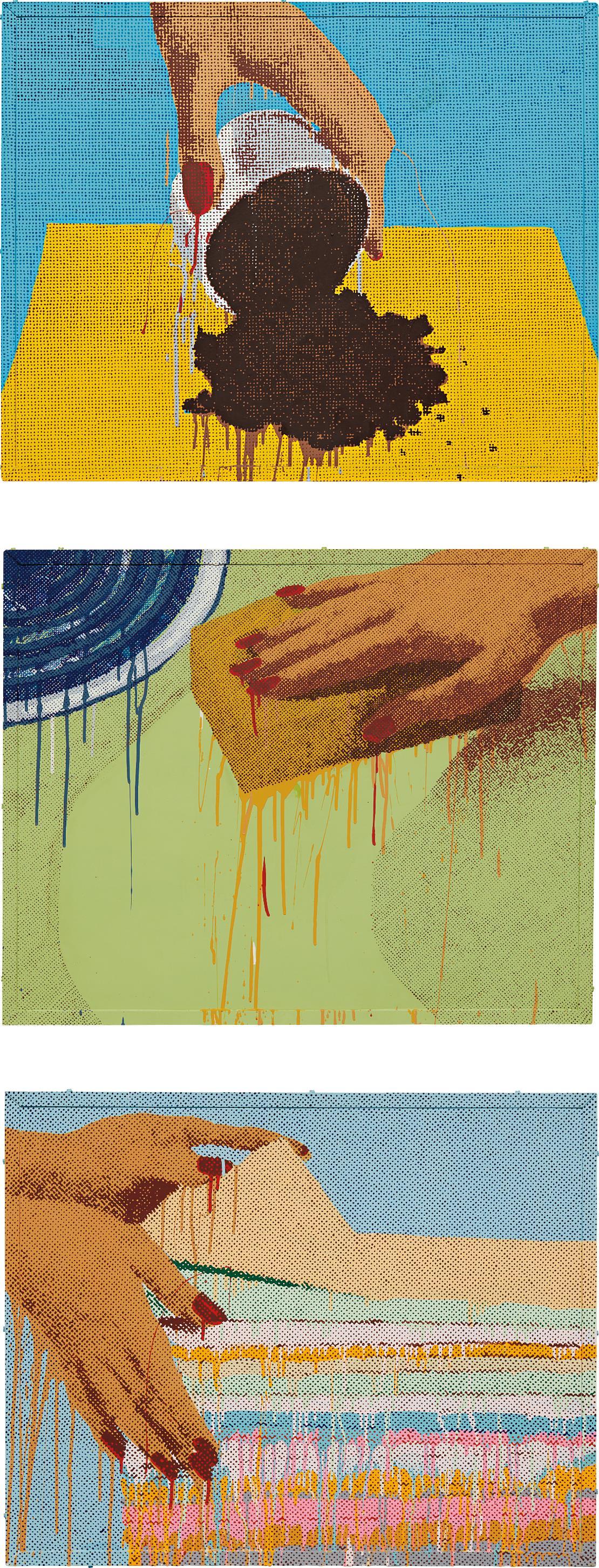Marilyn Minter-Untitled-1988