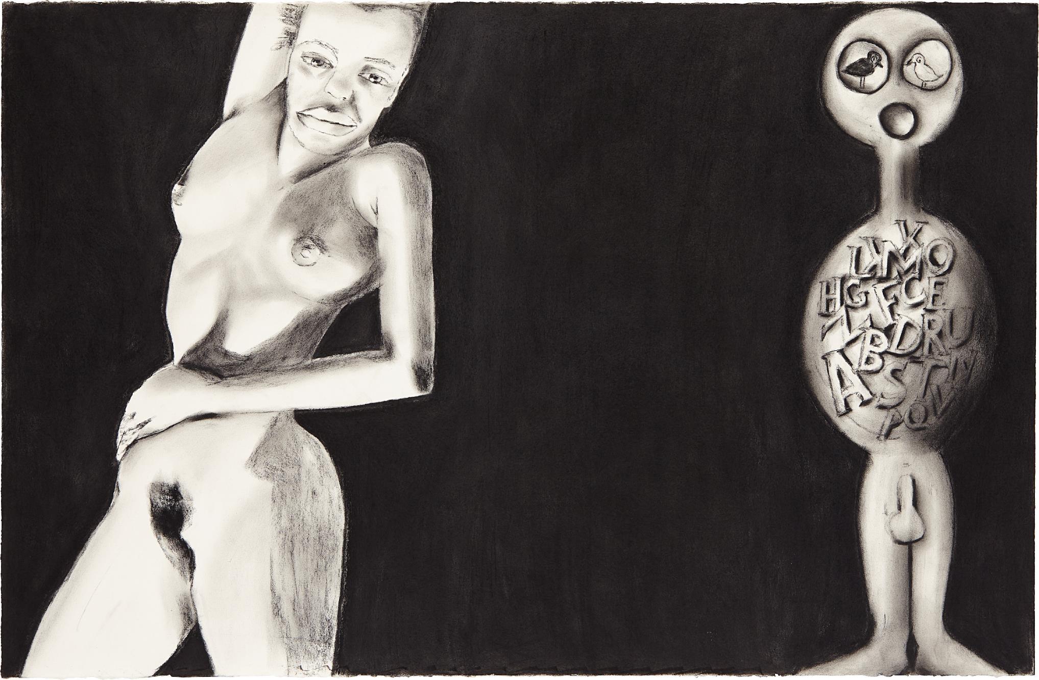 Francesco Clemente-Untitled-1990