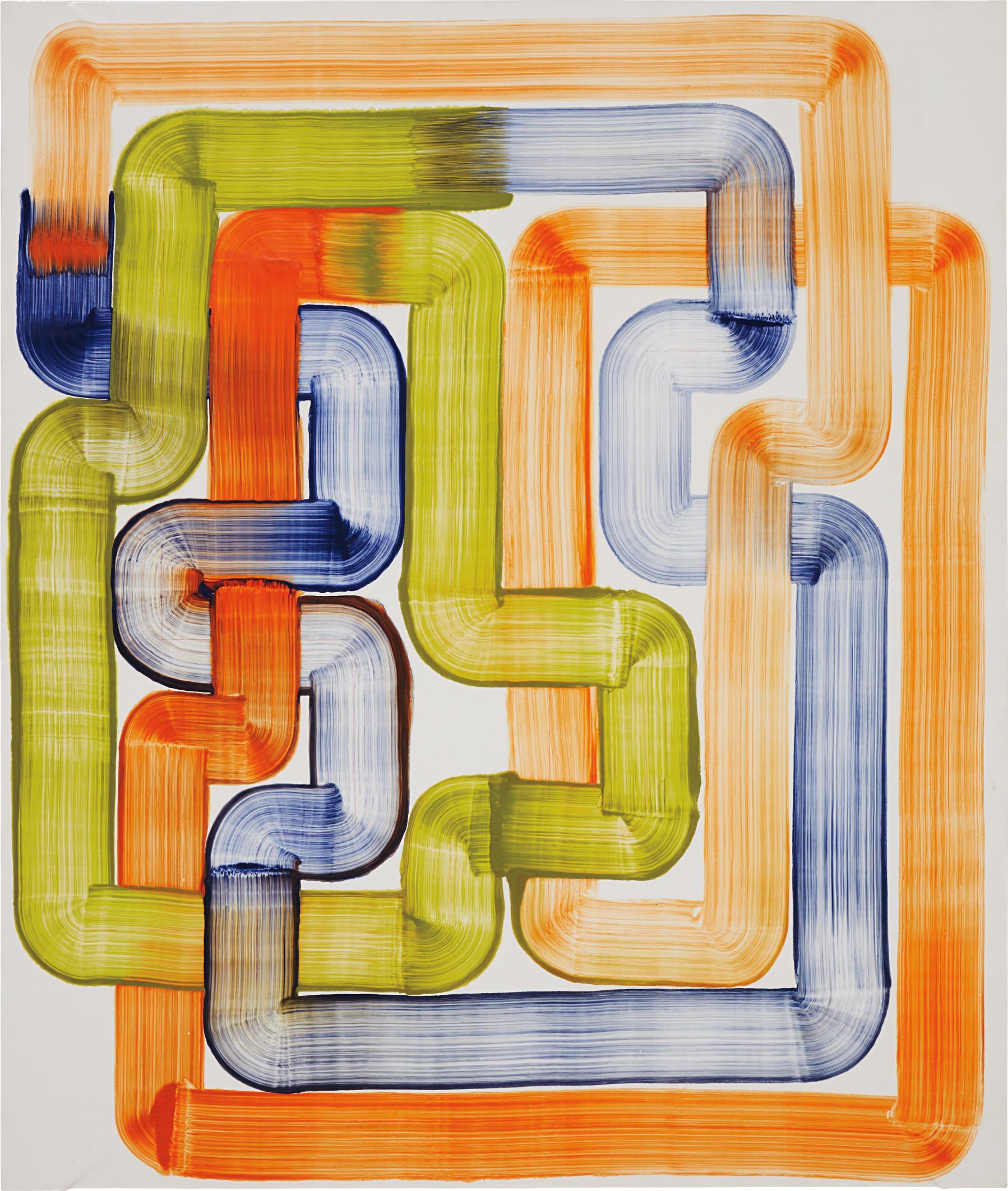 Bernard Frize-Isotopie-2006
