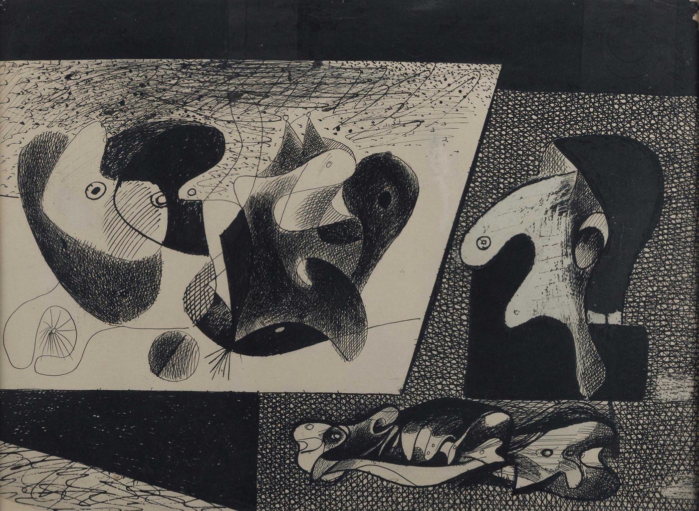 Arshile Gorky-Untitled-1932