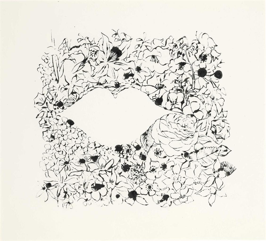 Andy Warhol-Female Lips-1957