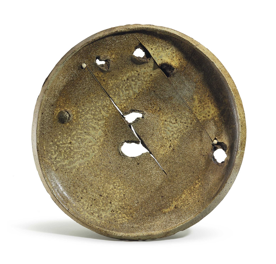 Peter Voulkos-Untitled (Plate)-1978
