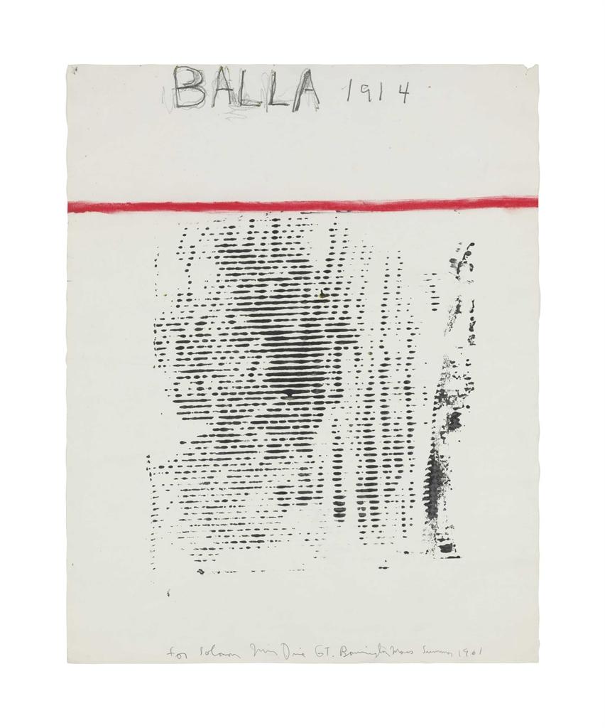Jim Dine-Balla 1914-1961