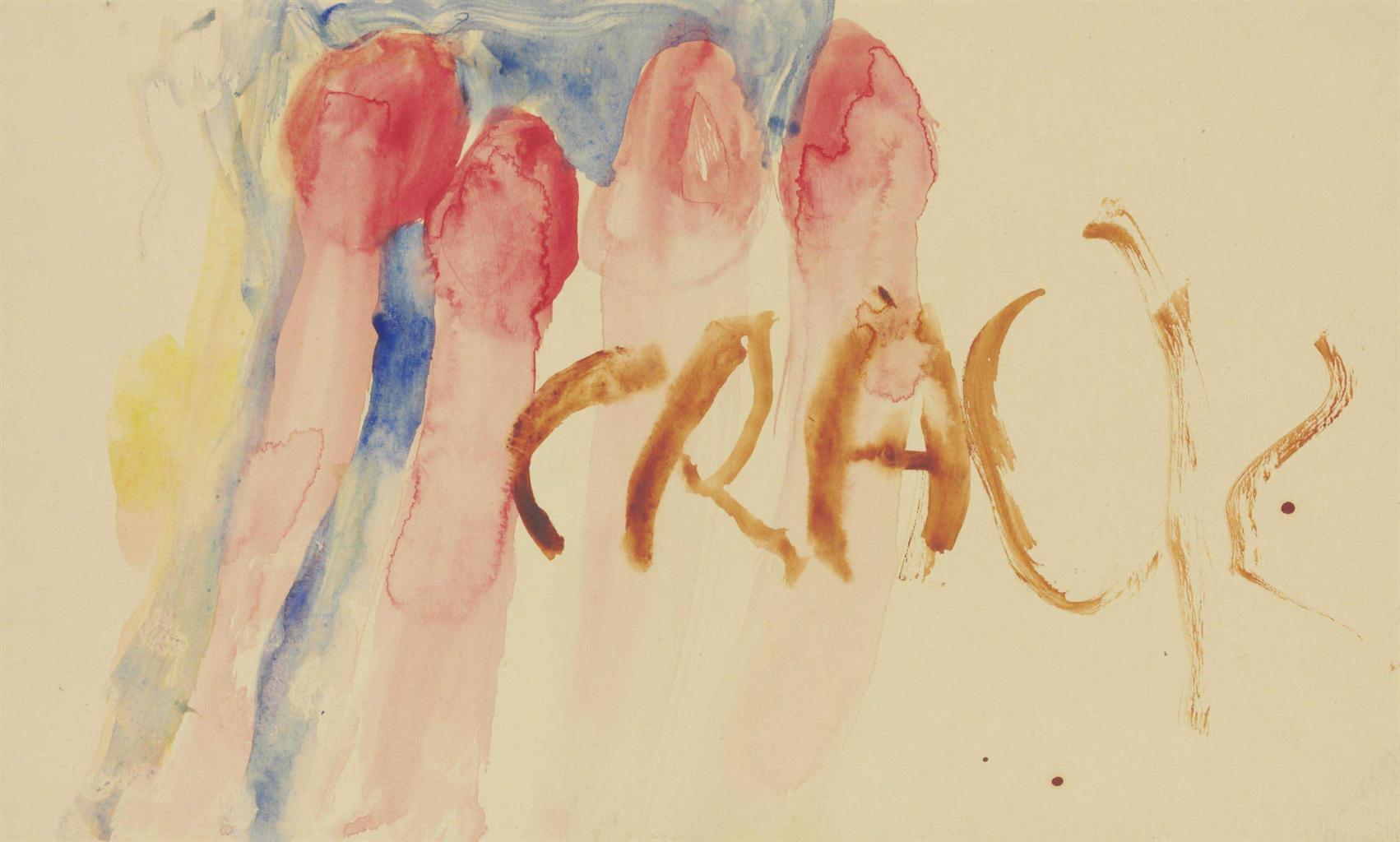 Jim Dine-Crack-1964