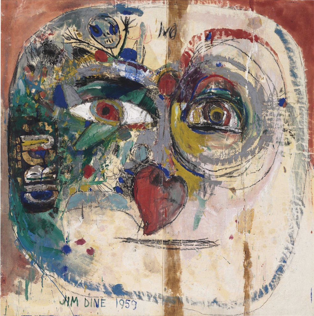 Jim Dine-My Big Head with a Heart for a Nose-1959