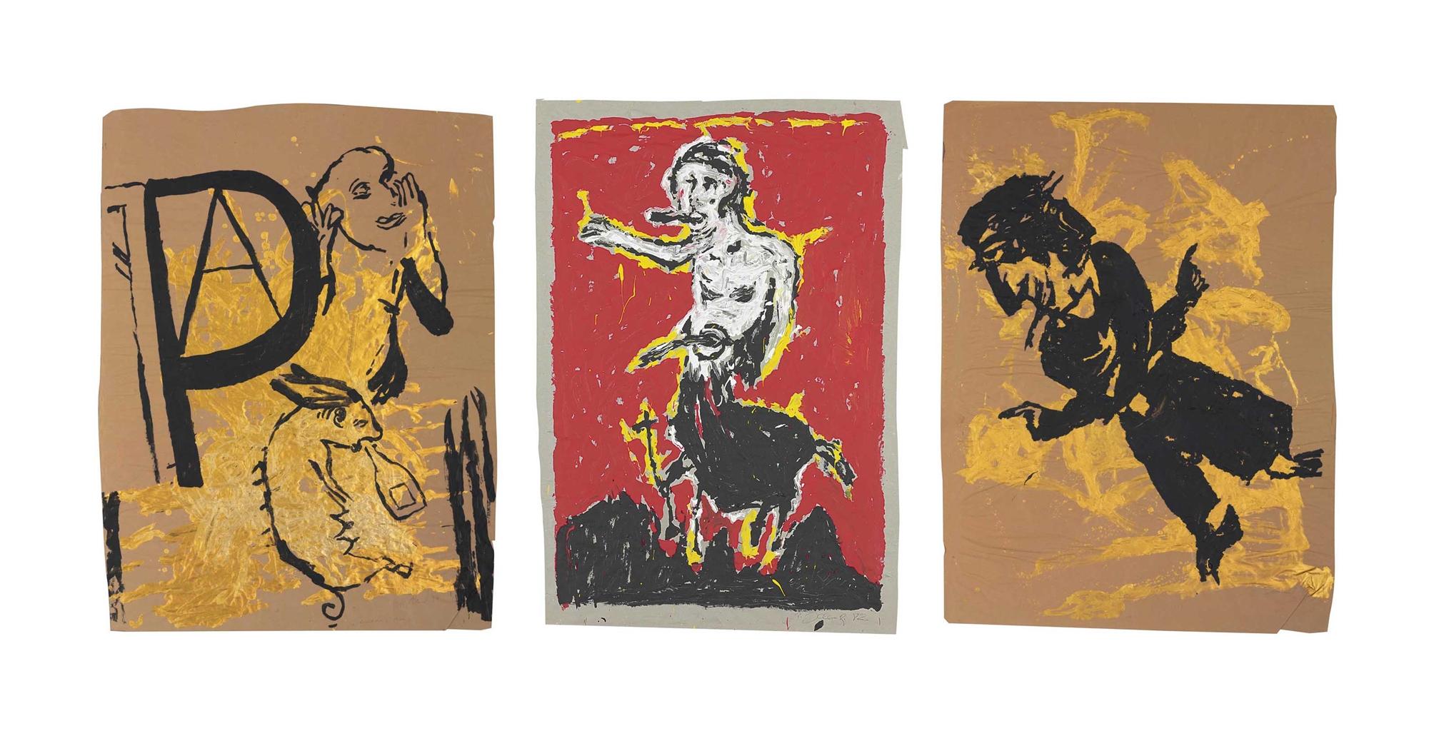 Hans Peter Adamski-Zentaur; Untitled; Untitled-1984