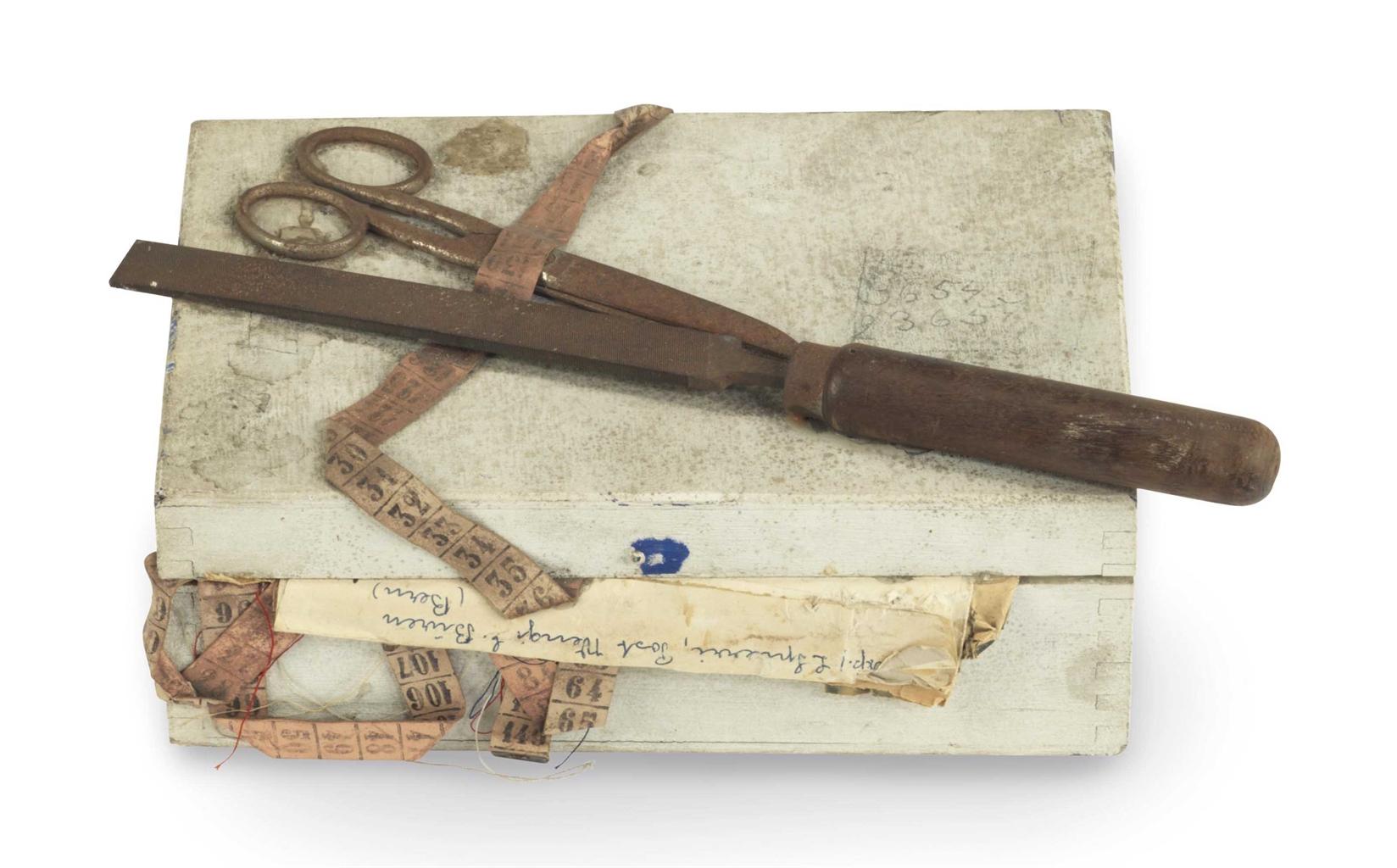 Daniel Spoerri-Vera's Sewing Kit-1960