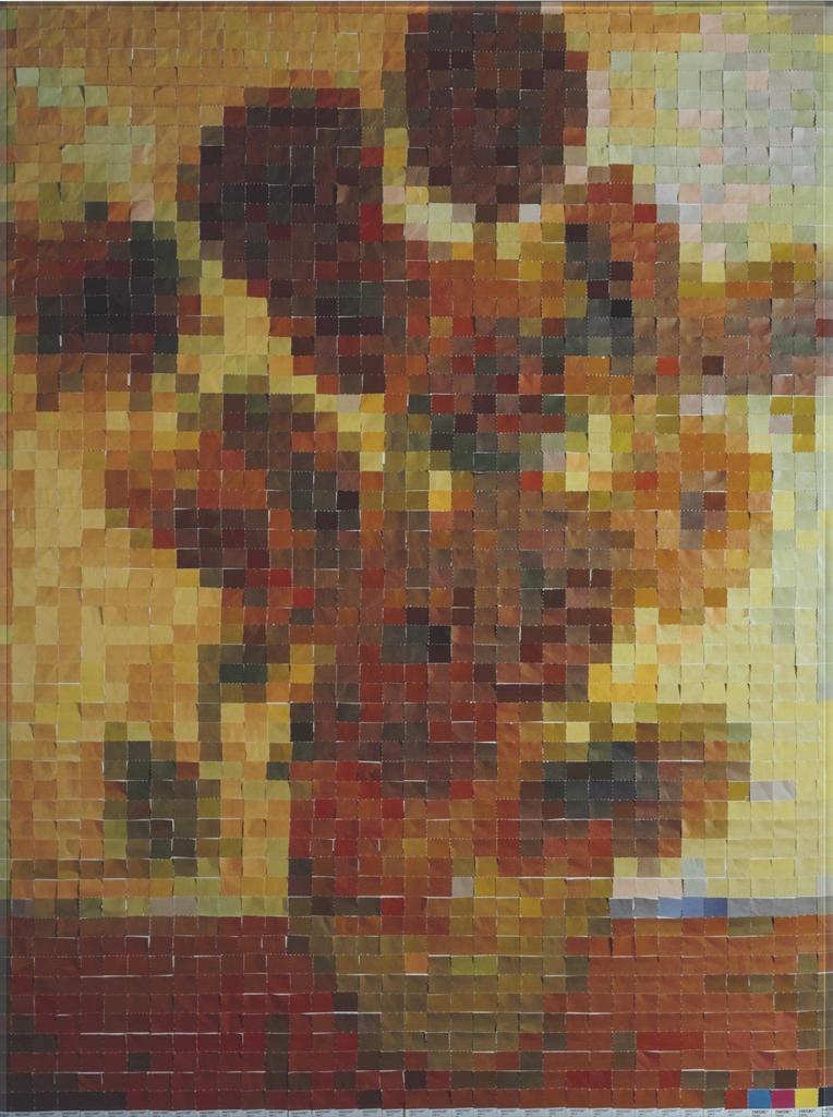 Vik Muniz-Pictures of Color: After Van Gogh-2001