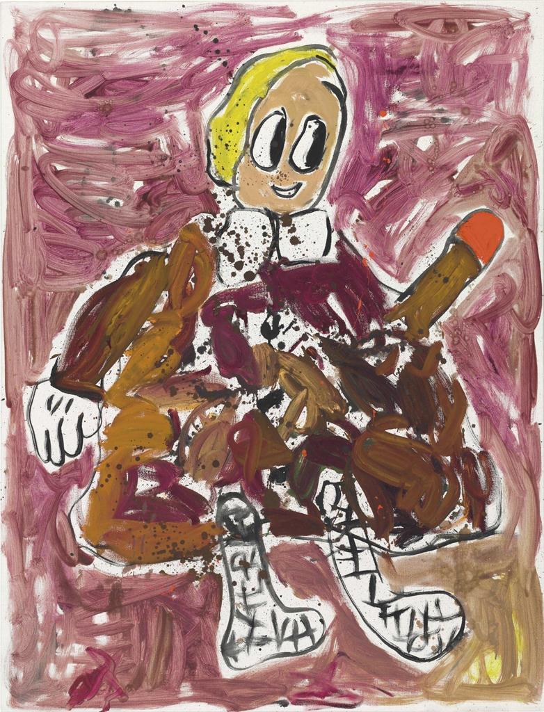 Andre Butzer-Untitled (Frau)-2007