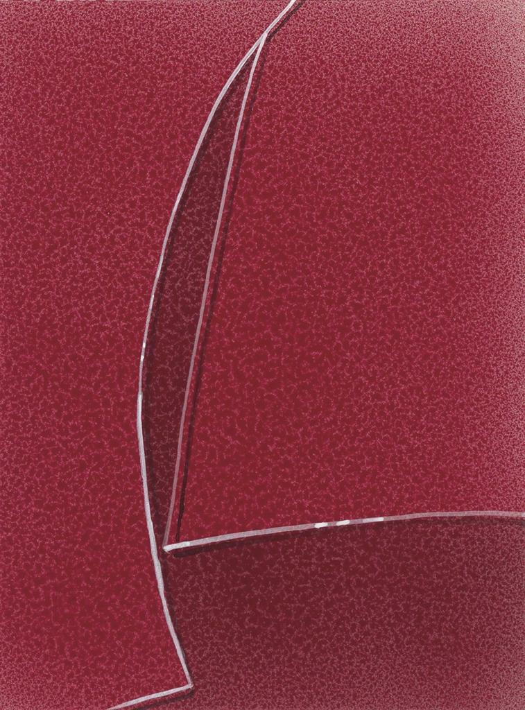Ed Ruscha-Busted Glass #28-2008