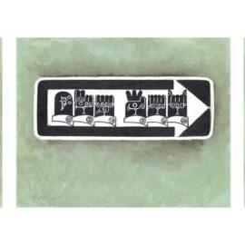 Martin Wong-Three Signs-1990