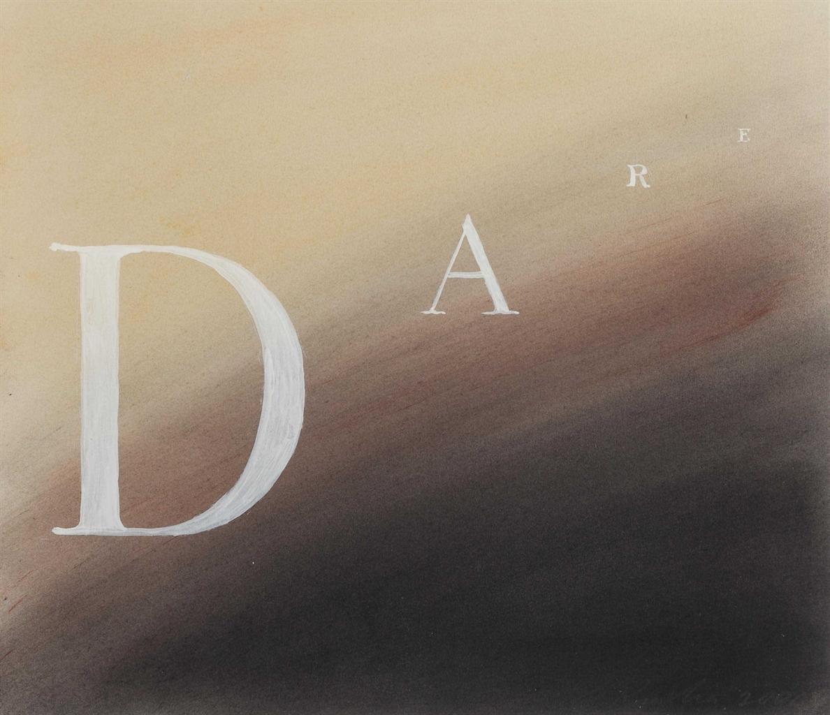 Ed Ruscha-Dare-2001