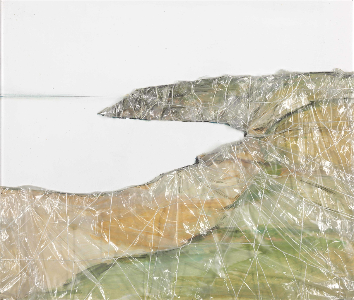 Christo and Jeanne-Claude-15 Miles Packed Coast (Project for West Coast)-1968