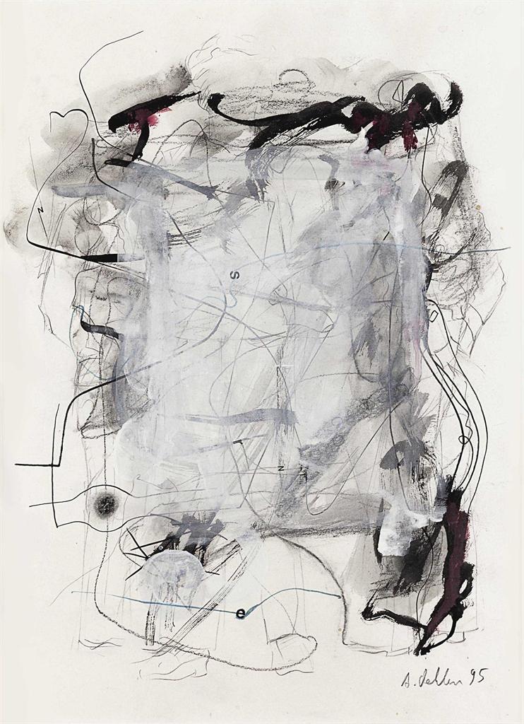 Albert Oehlen-Untitled-1995