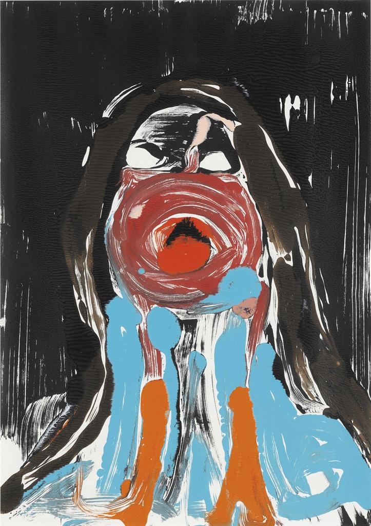 Nicola Tyson-Portrait Head #9-2002