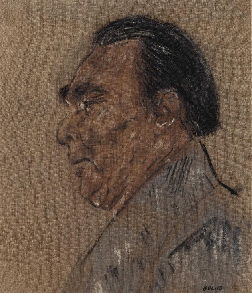 Leon Golub-Brezhnev II (1976)-1977