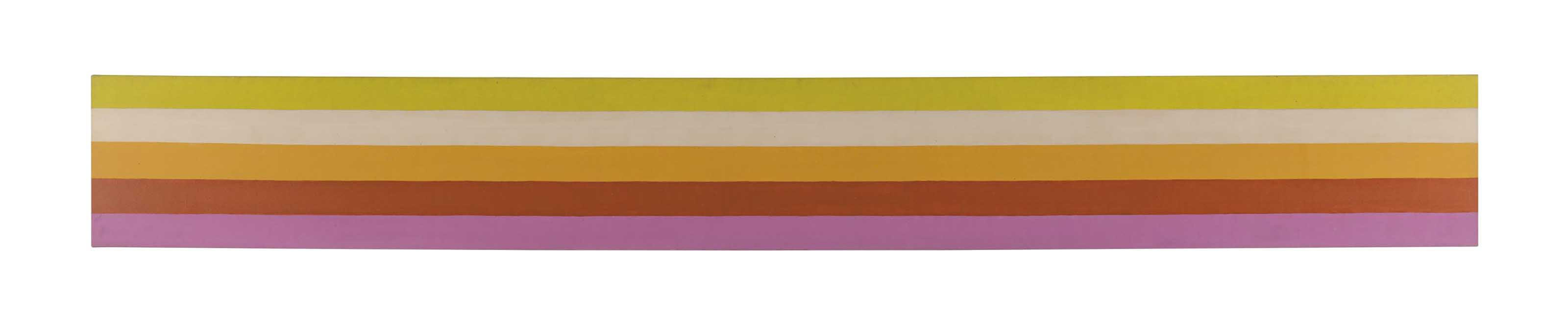 Kenneth Noland-Level Mode-1966