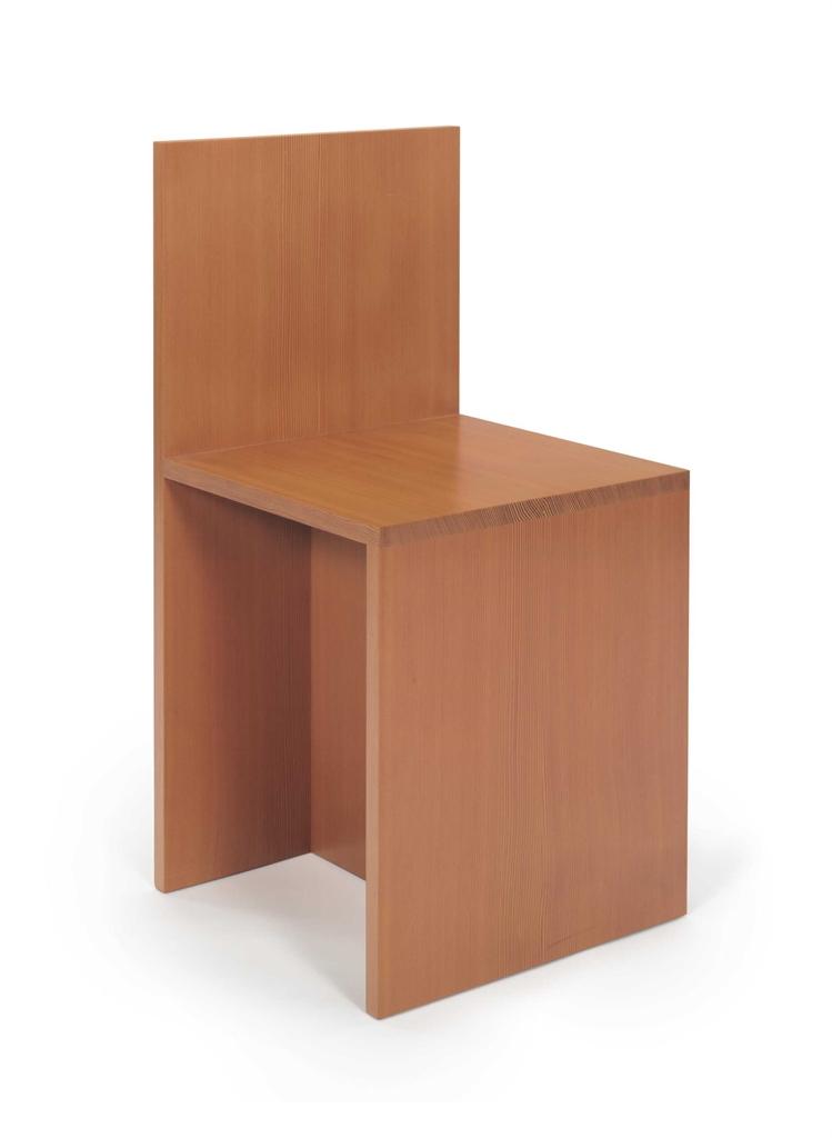 Donald Judd-Chair-1990