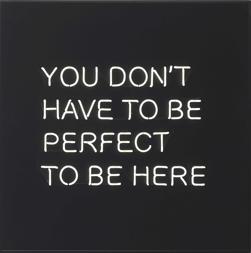Jeppe Hein-YOU DON'T HAVE TO BE PERFECT TO BE HERE-2012