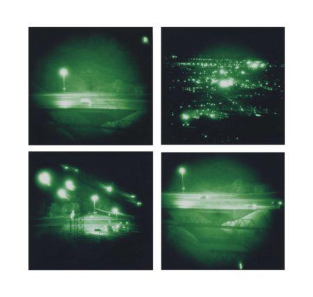 Thomas Ruff-Nacht 19 I; Nacht 19 III; Nacht 20 I; Nacht 20 III-1995