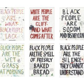 William Pope.L-Black People... (Six Works)-2002