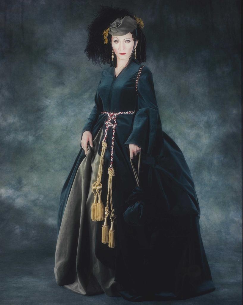 Yasumasa Morimura-Self-Portrait (Actress) / After Vivien Leigh 3-1996