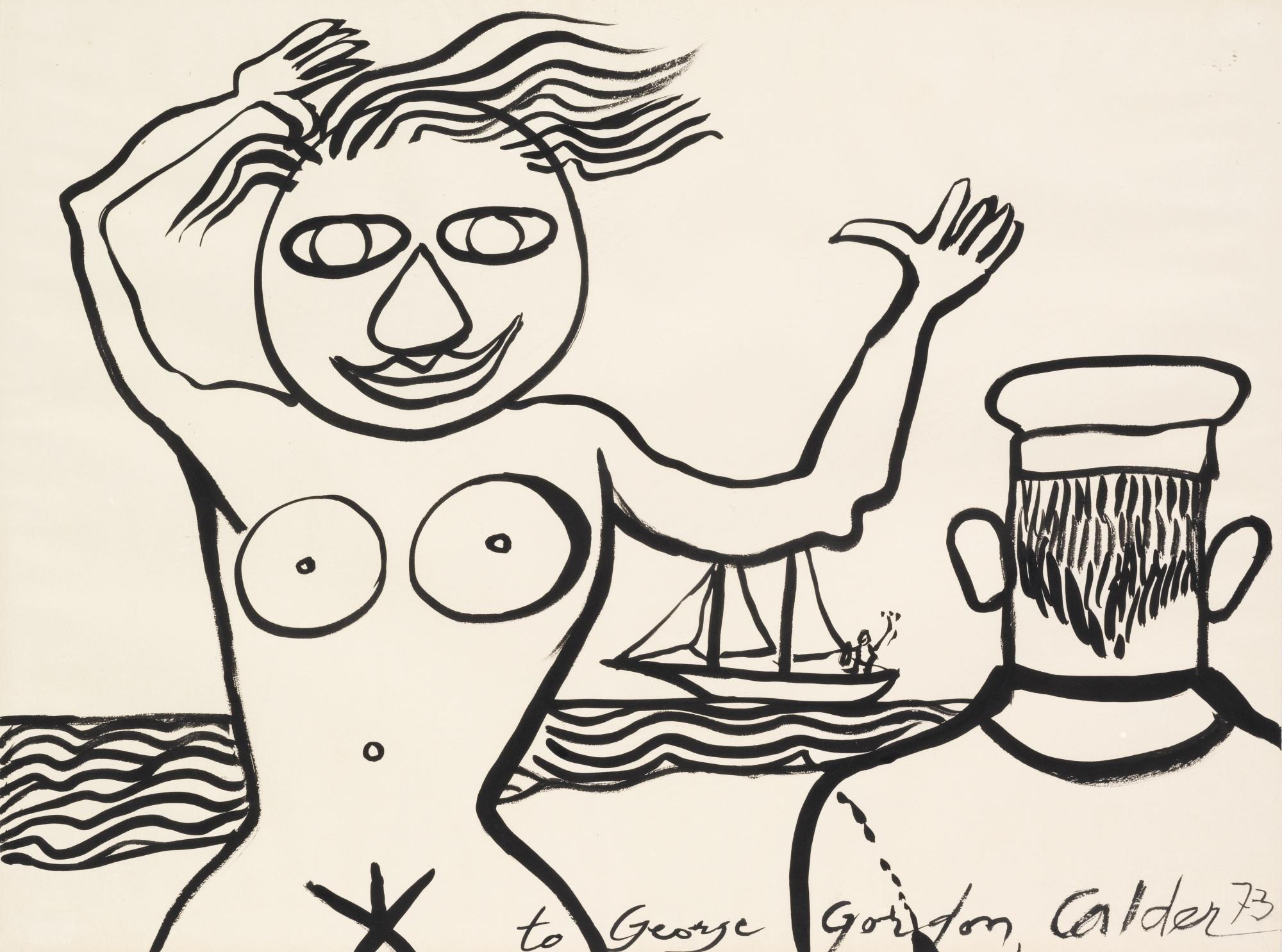 Alexander Calder-Untitled-1973