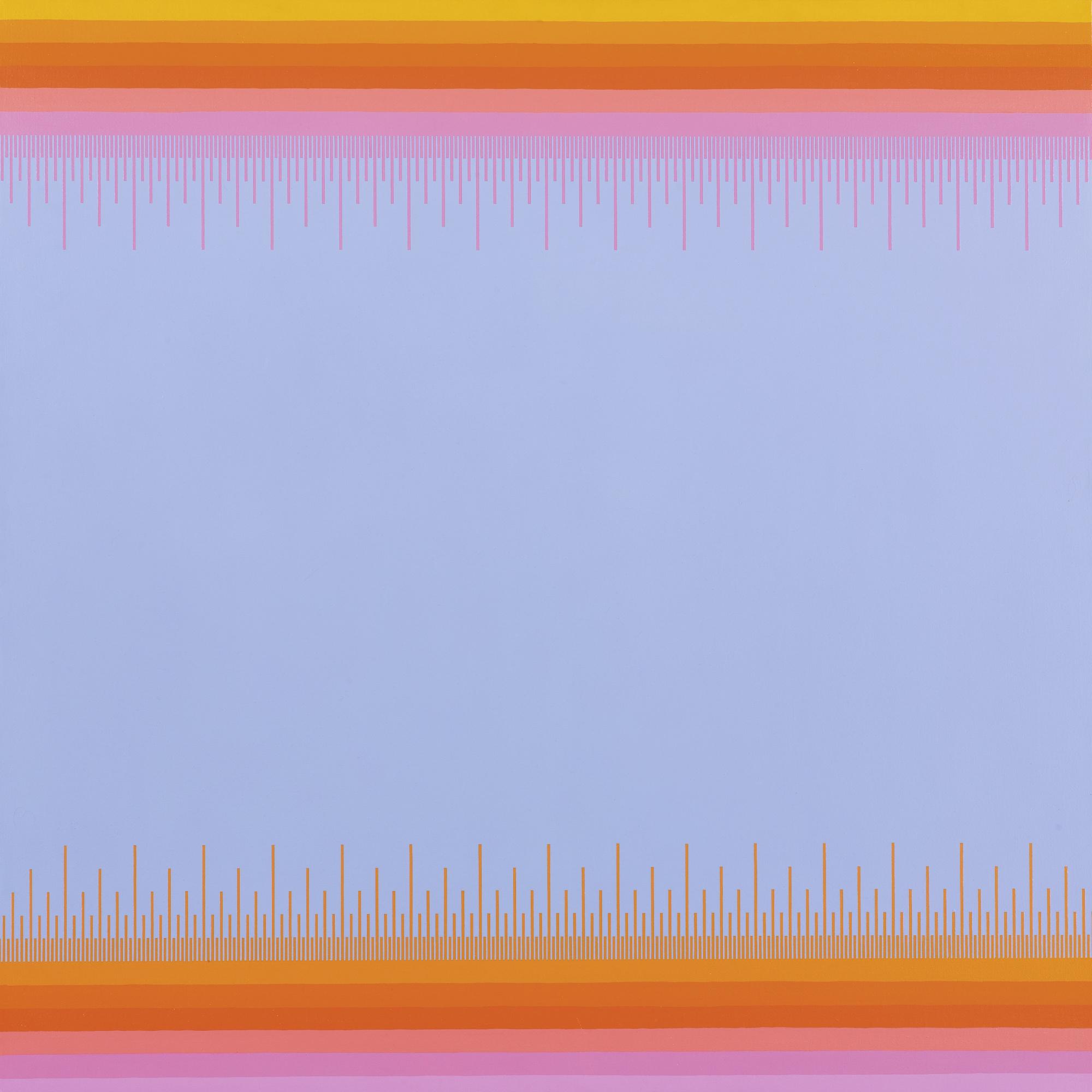 Richard Anuszkiewicz-Soft Blue III-1976
