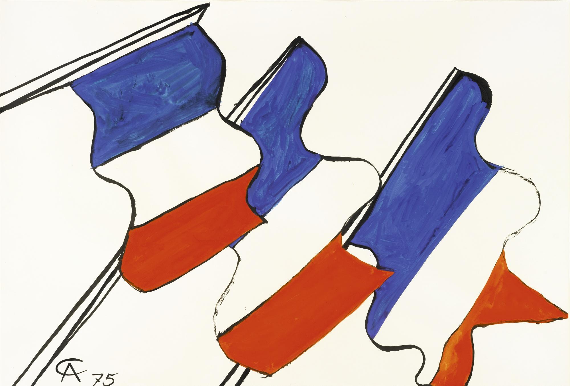 Alexander Calder-Untitled-1975