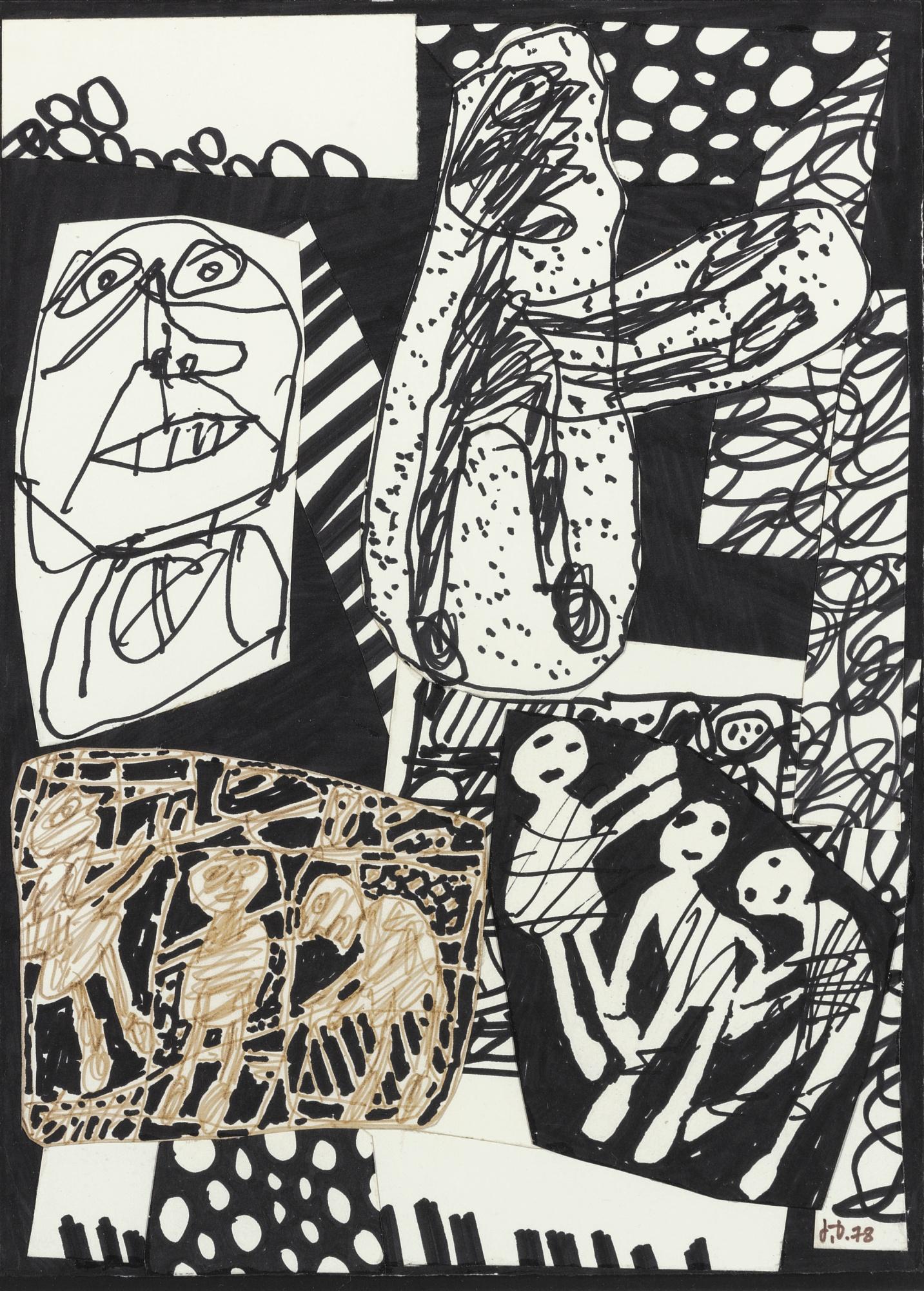 Jean Dubuffet-Situation XLVI-1978