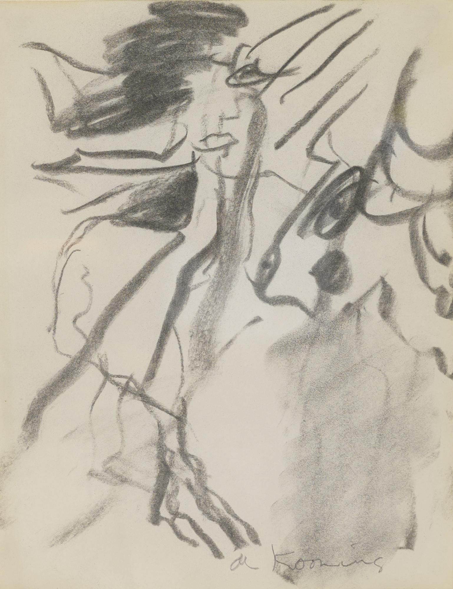 Willem de Kooning-Untitled-1965