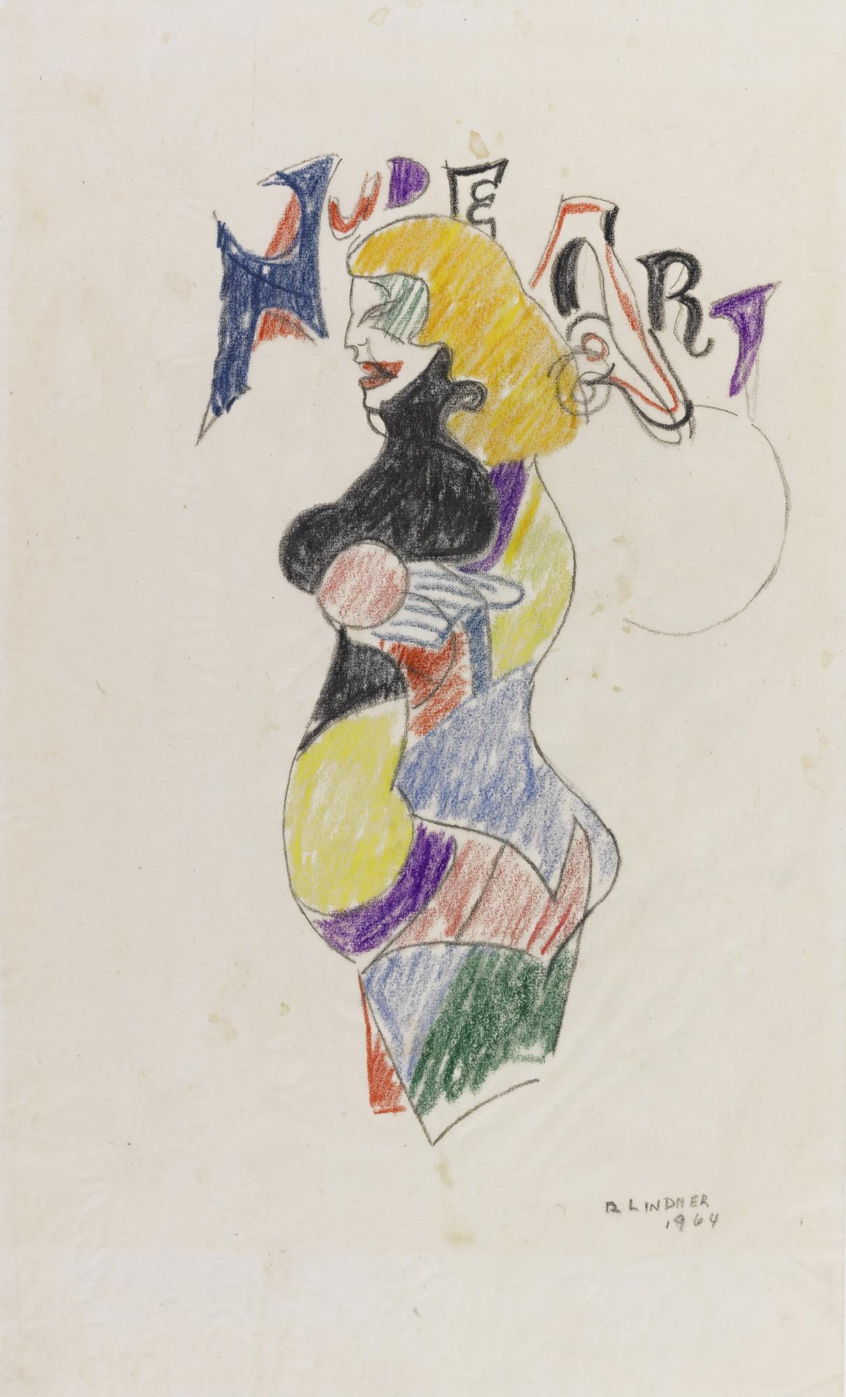 Richard Lindner-Nude Art-1964
