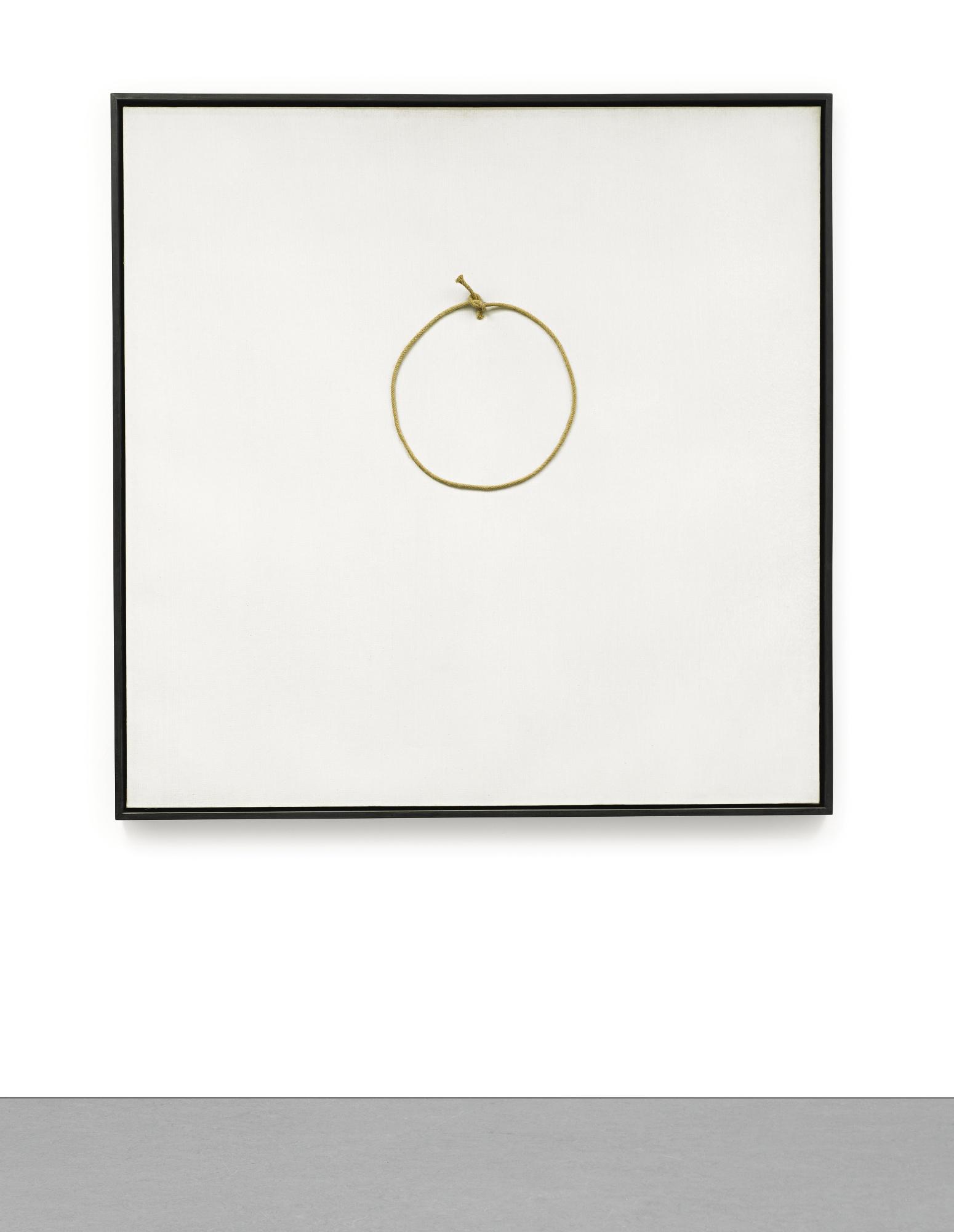 Antoni Tapies-Cercle De Corde (Rope Circle)-1969