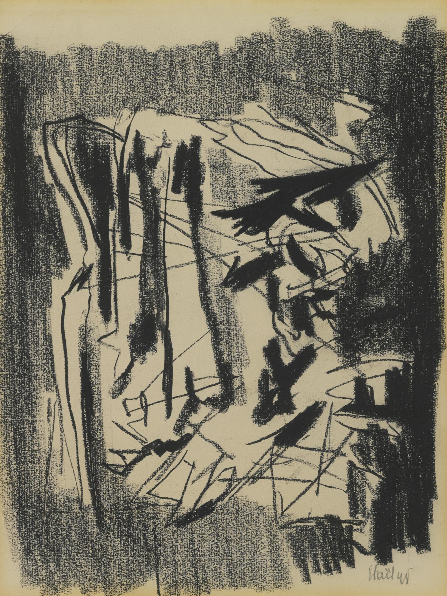 Nicolas de Stael-Composition-1945