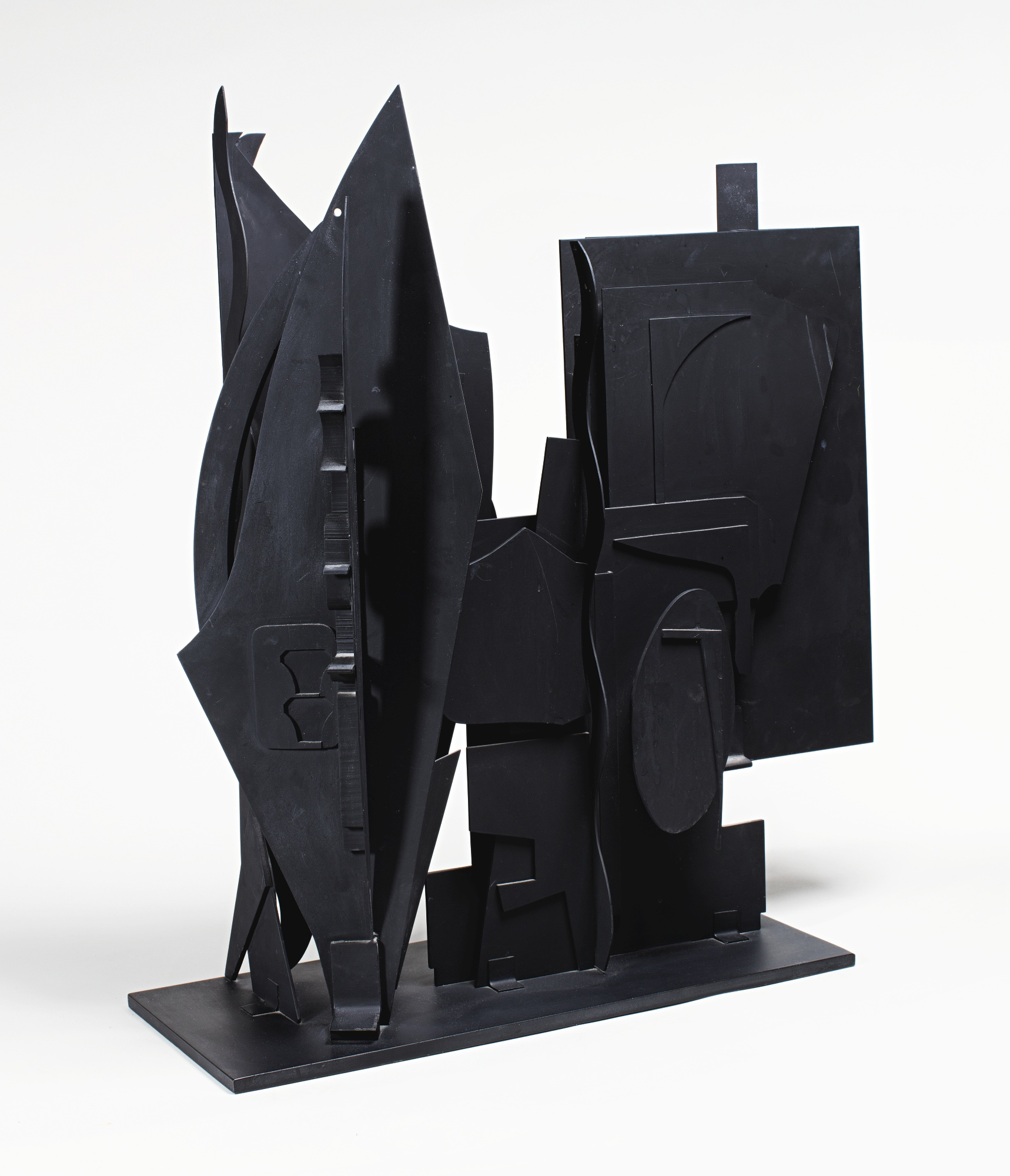 Louise Nevelson-Maquette For Night Wall I-1979