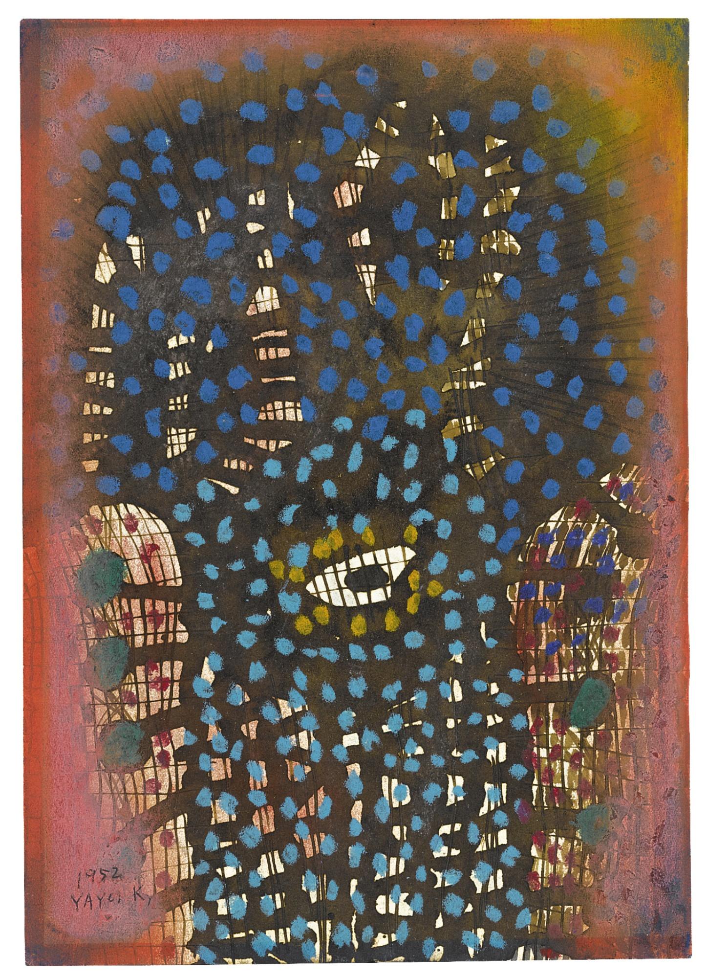 Yayoi Kusama-An Eye-1952