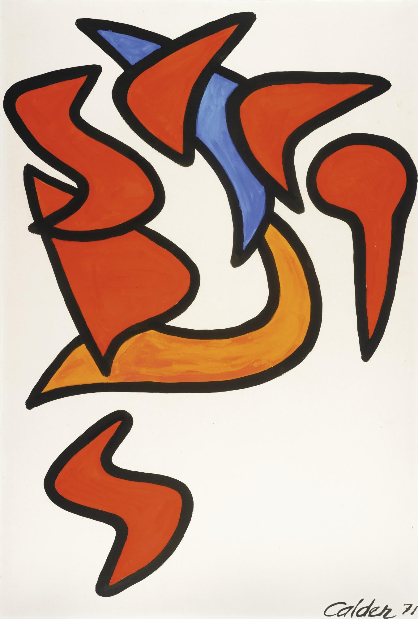Alexander Calder-Evolution-1971