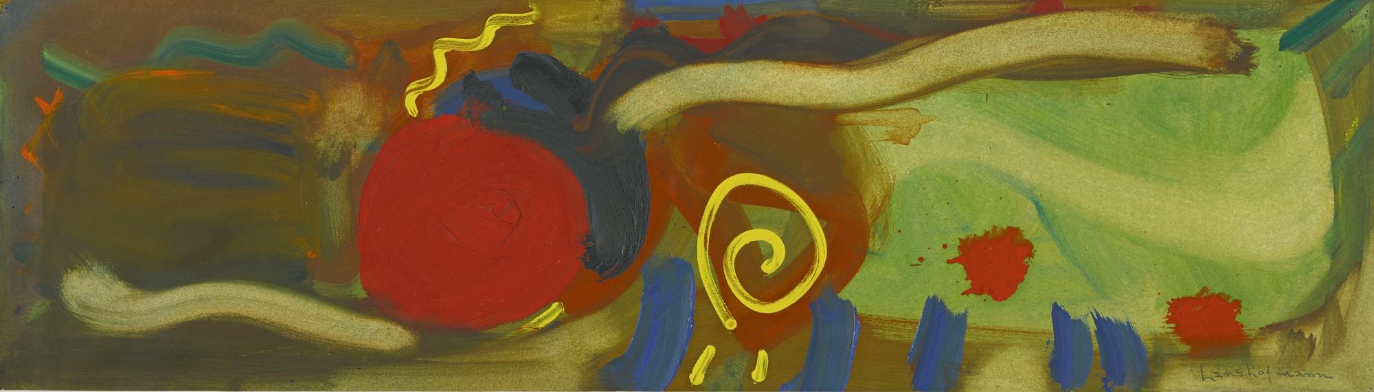 Hans Hofmann-Color Study #1-1956