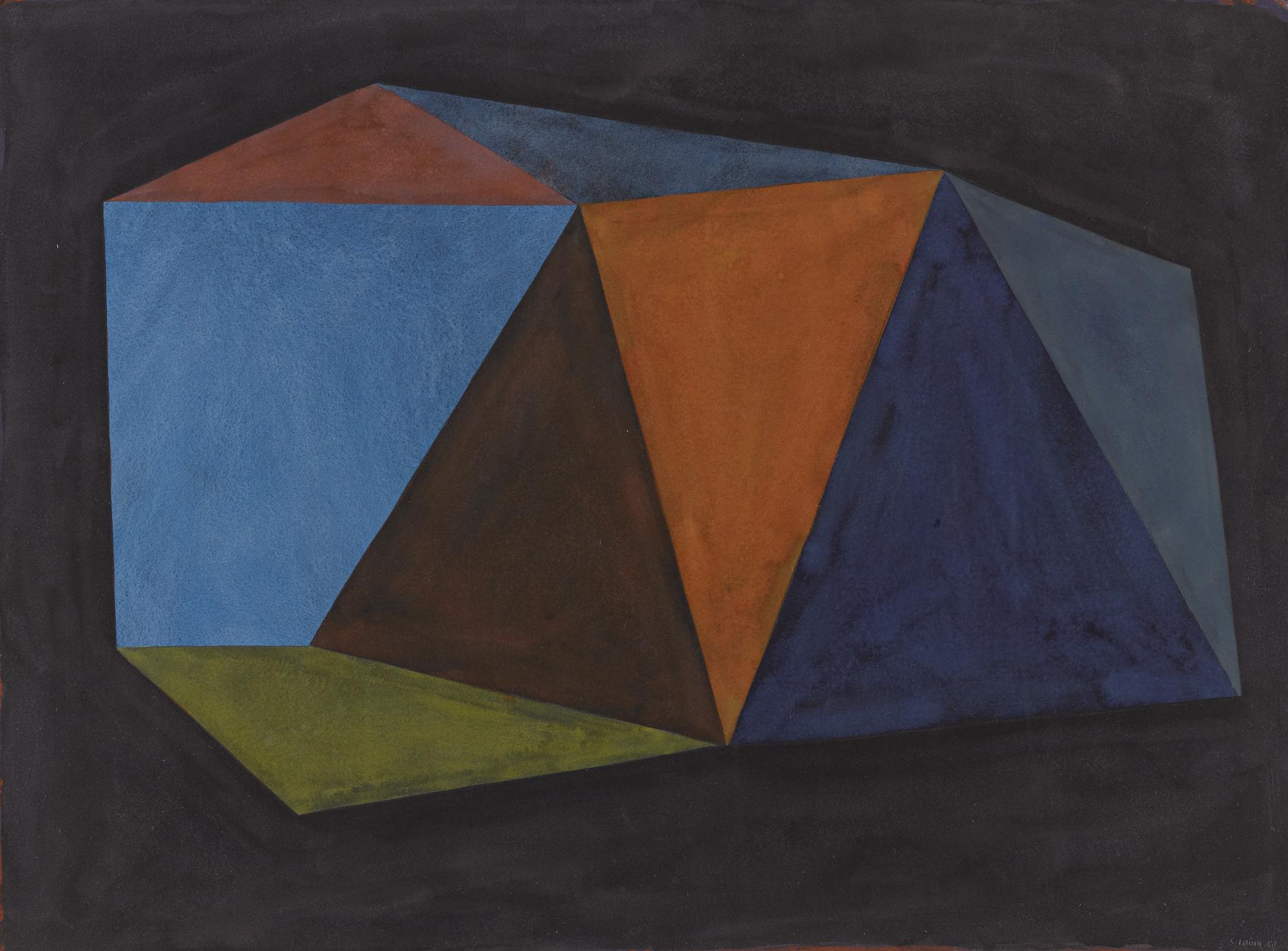 Sol LeWitt-Complex Form-1988
