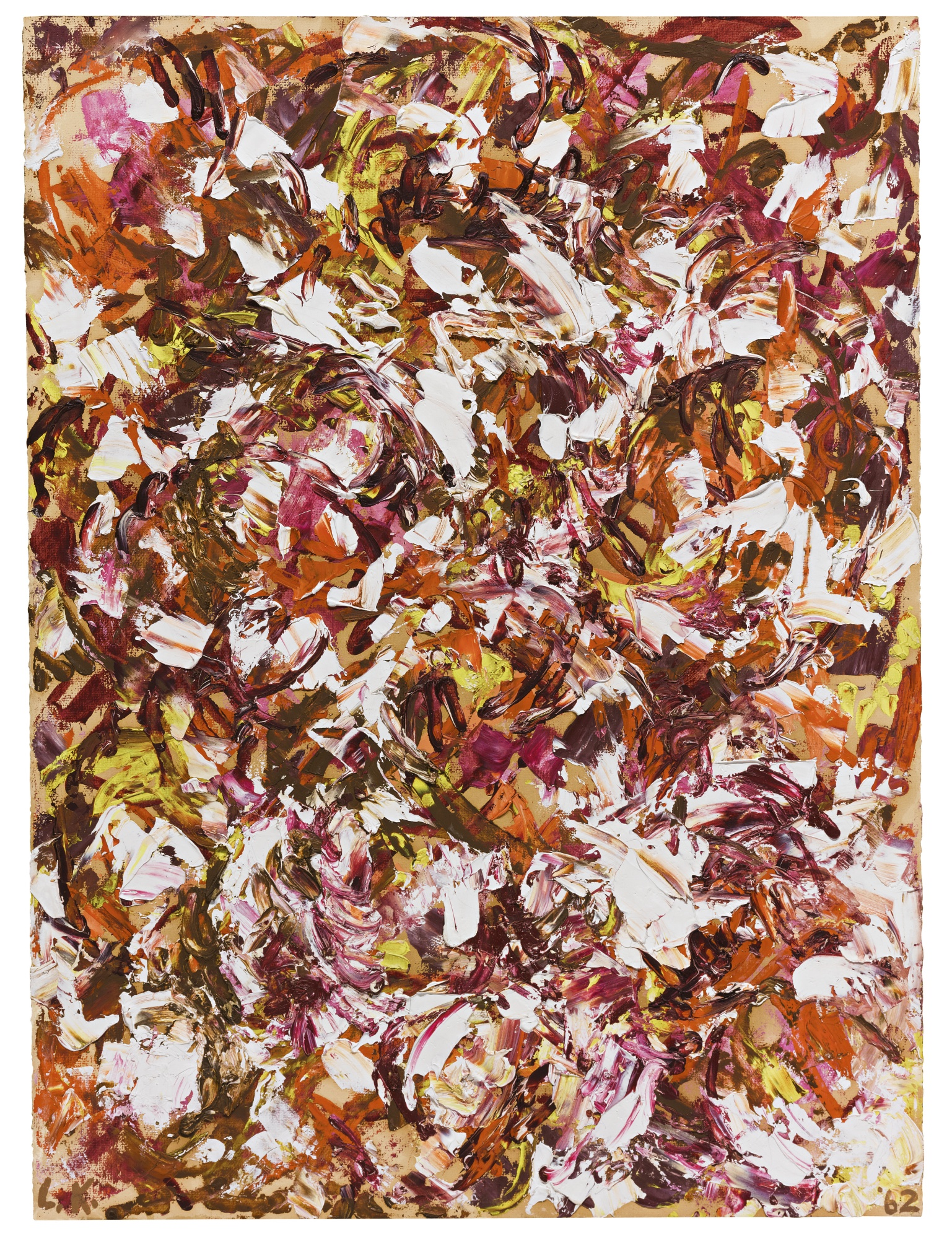 Lee Krasner-Untitled-1962