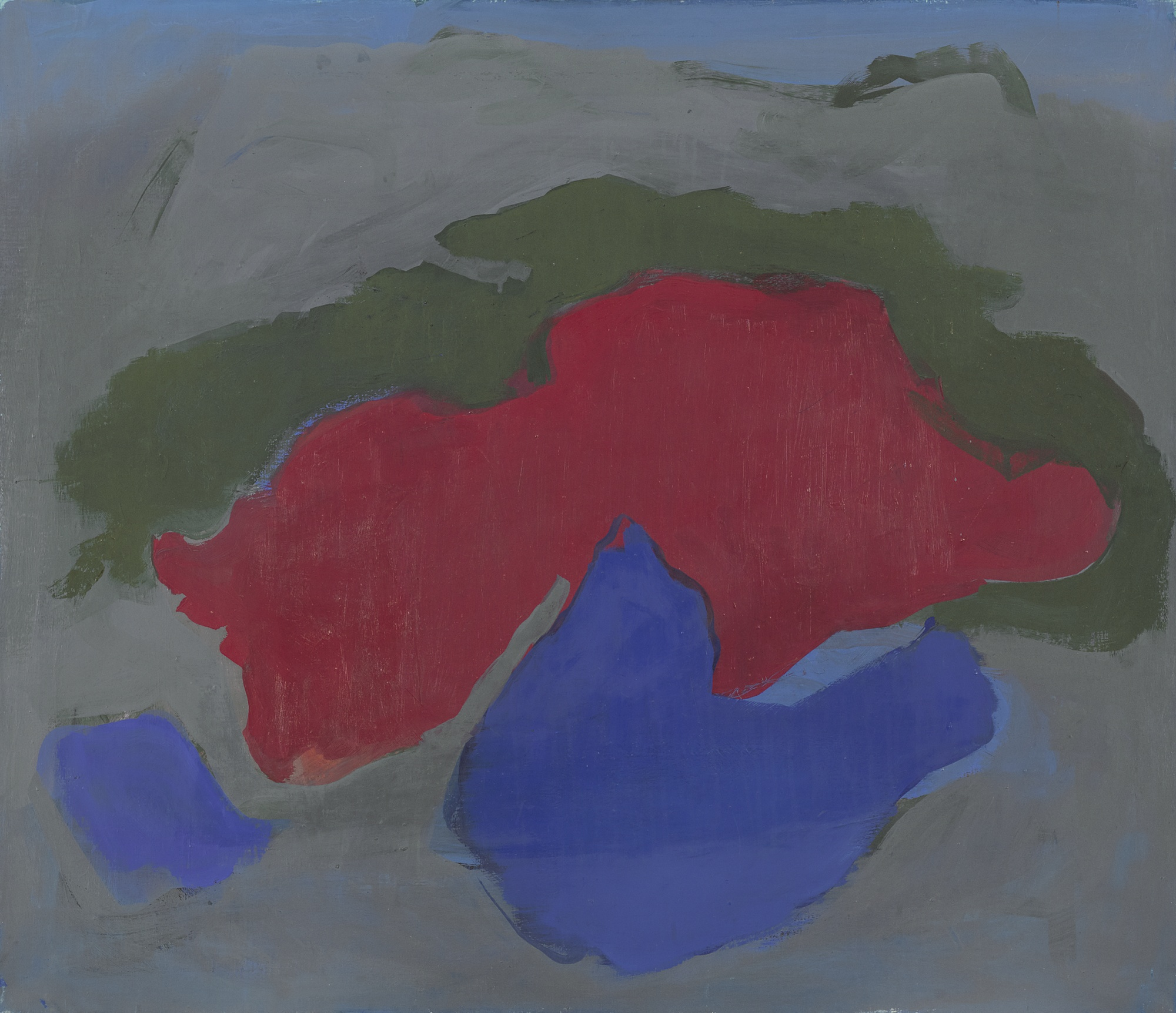 Esteban Vicente-Untitled-1967