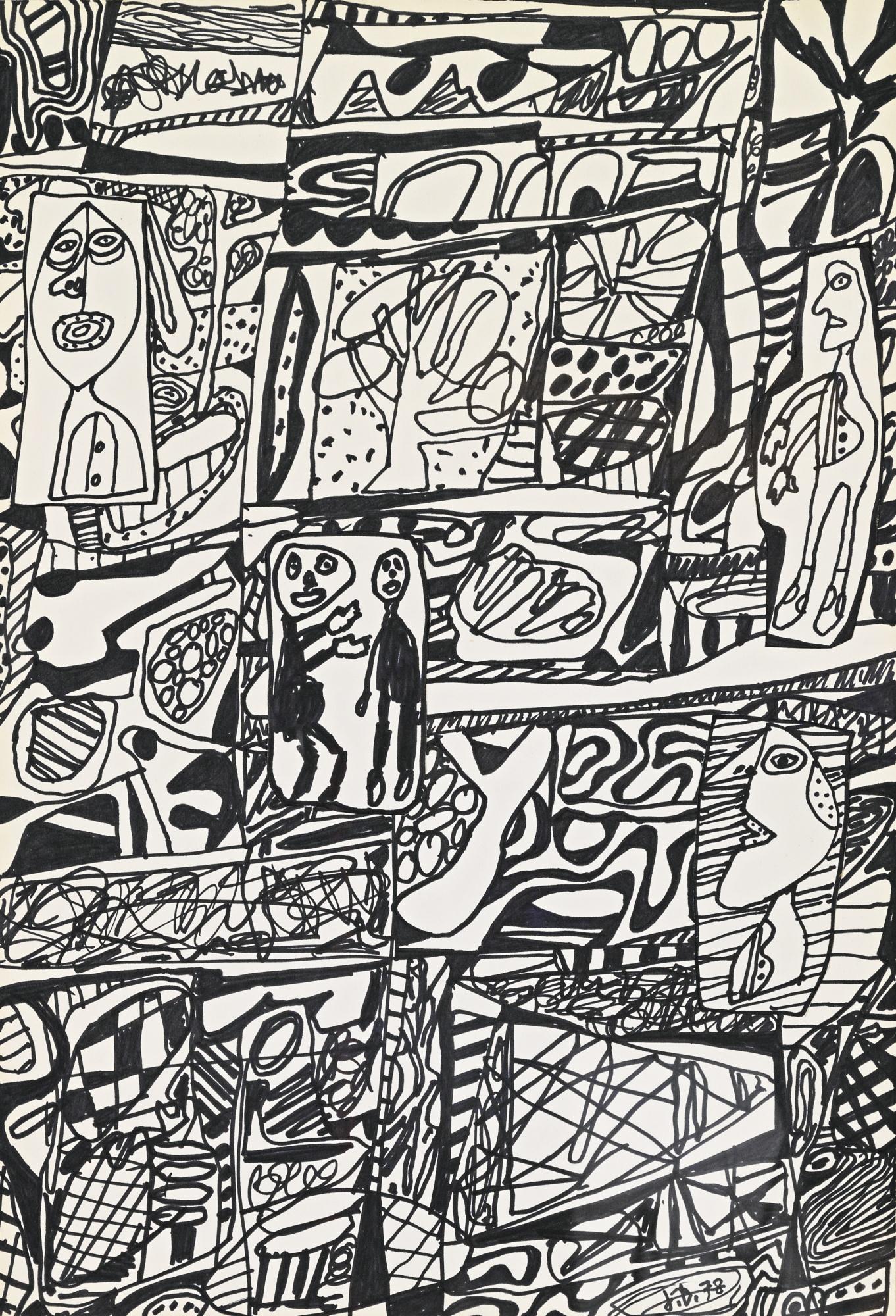 Jean Dubuffet-Annale I-1978