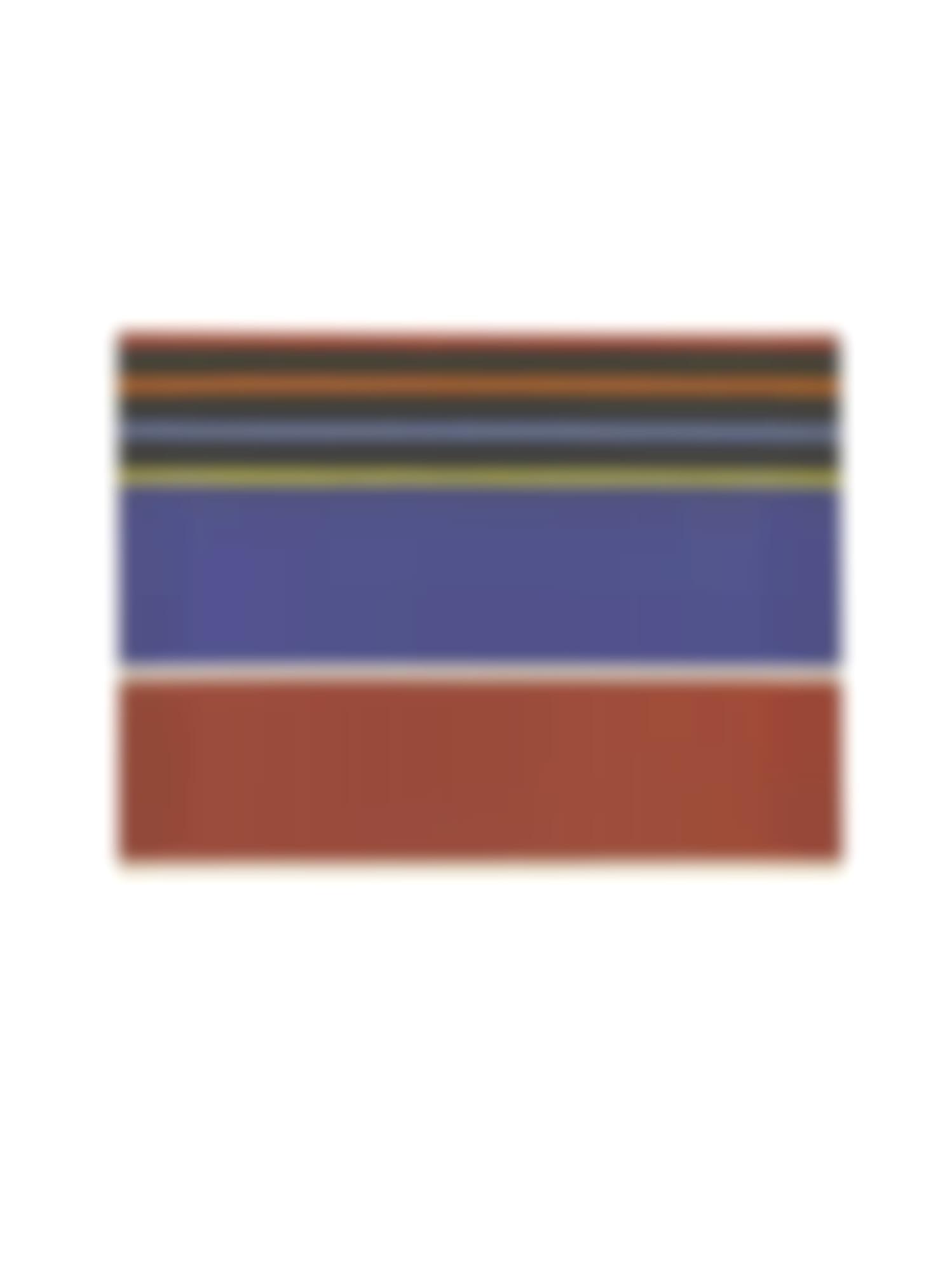 Kenneth Noland-Silent Adios I; Rainbow's Blanket [Two Works]-1980
