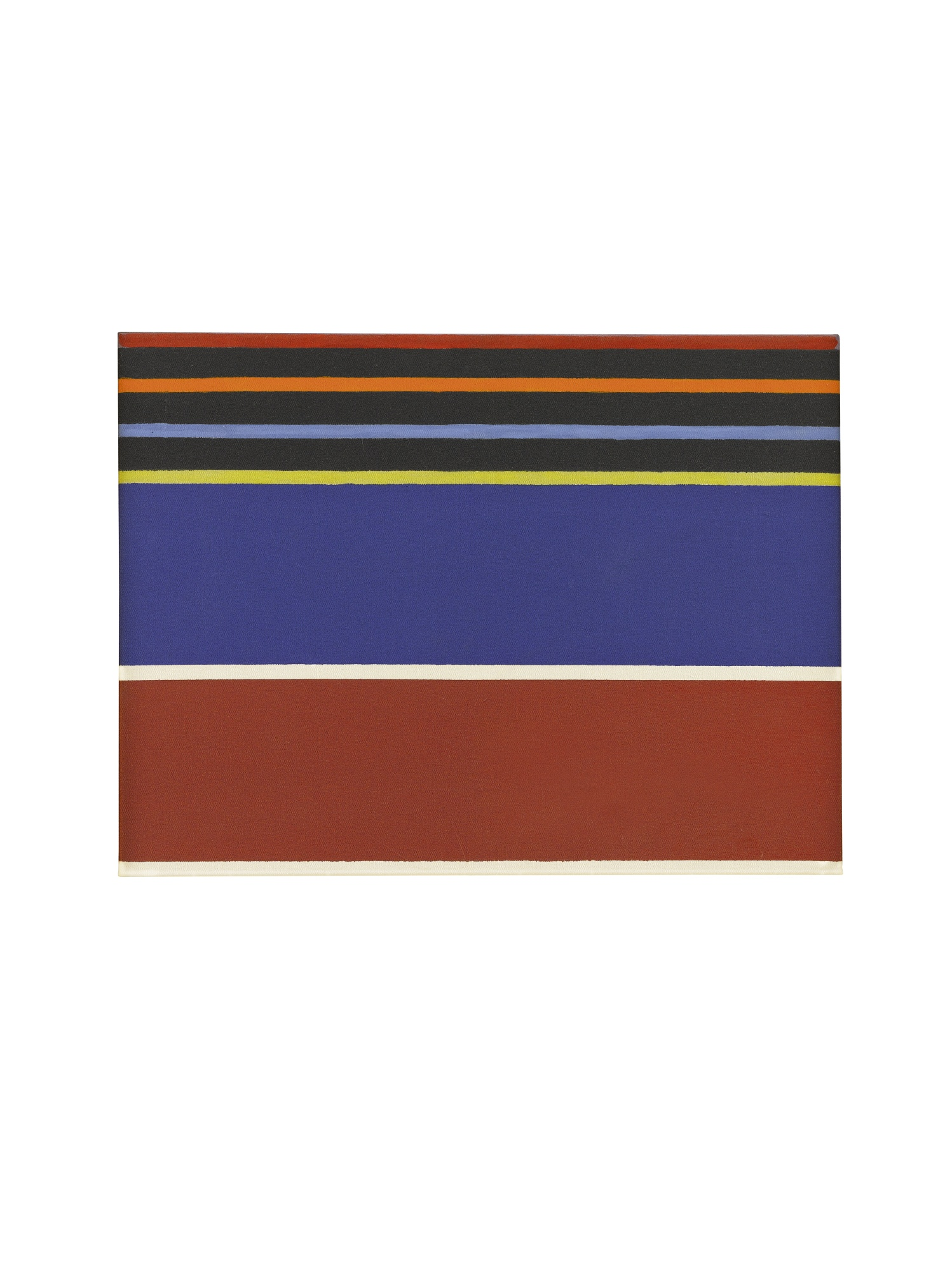 Kenneth Noland-Silent Adios I; Rainbow's Blanket [Two Works]-1980