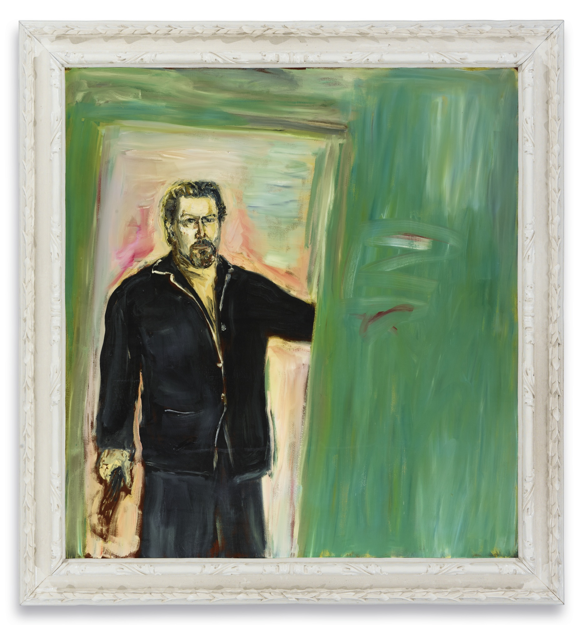 Julian Schnabel-Self-Portrait-2004