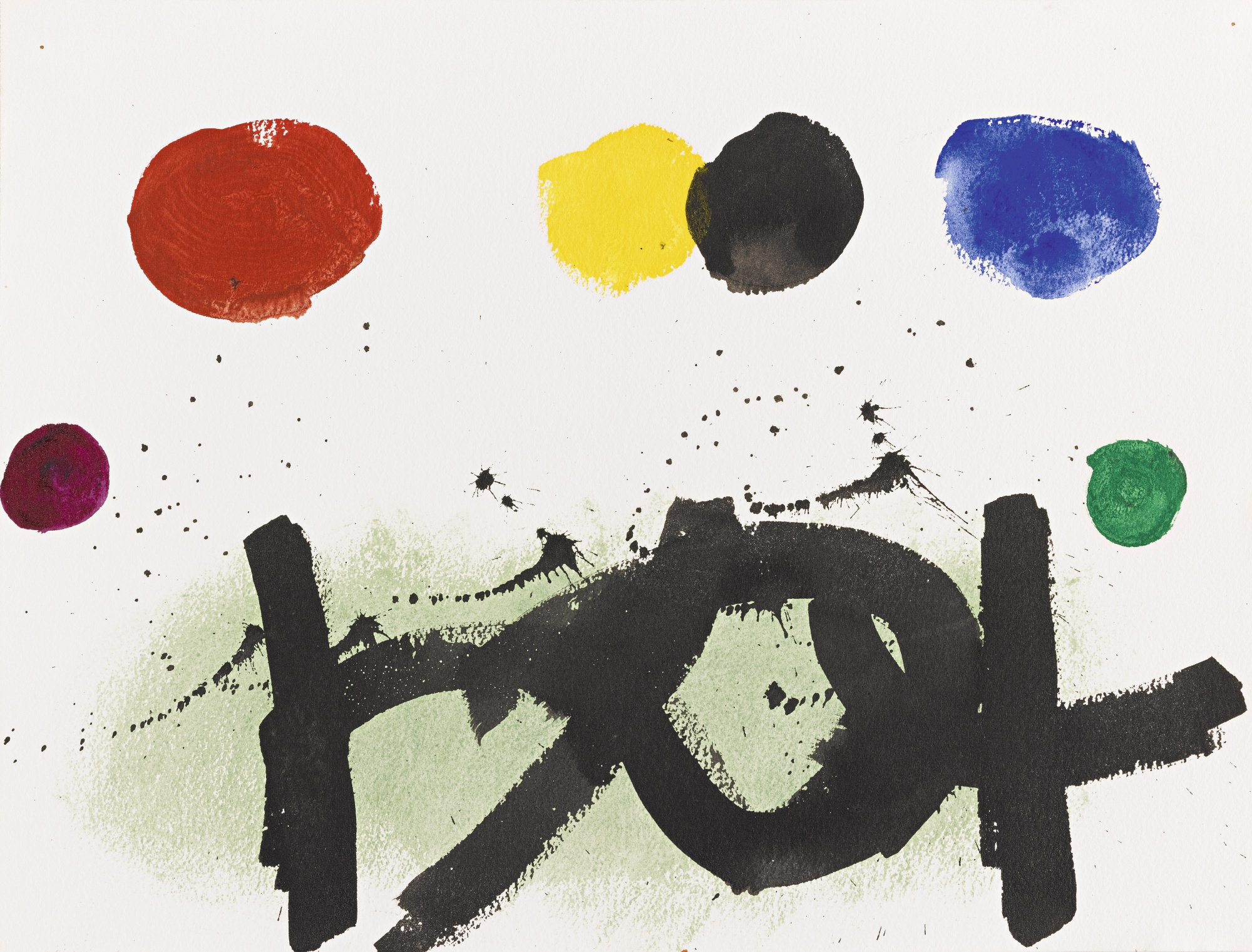Adolph Gottlieb-Untitled-1973