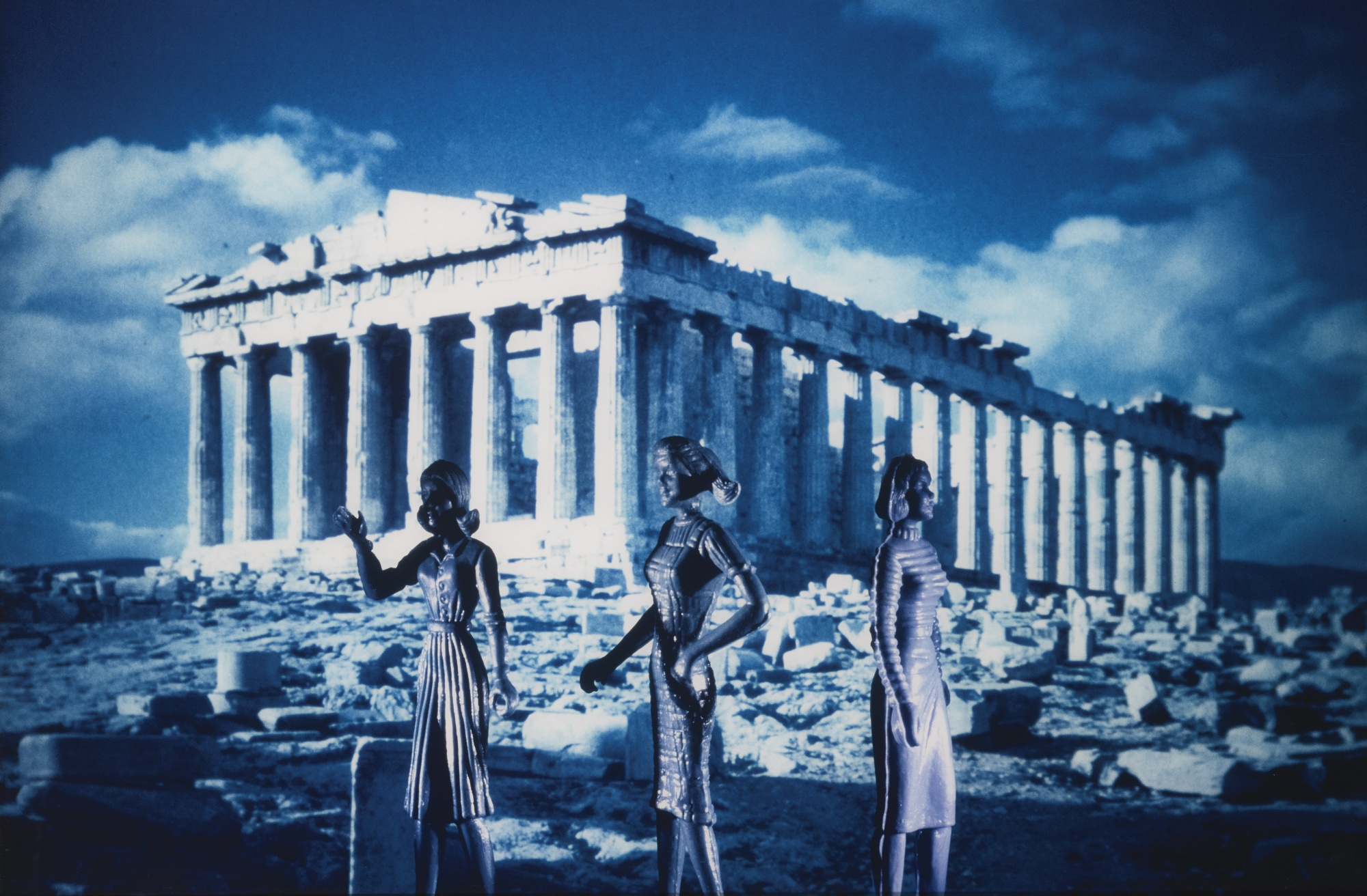 Laurie Simmons-Tourism: Parthenon (2nd View)-1984