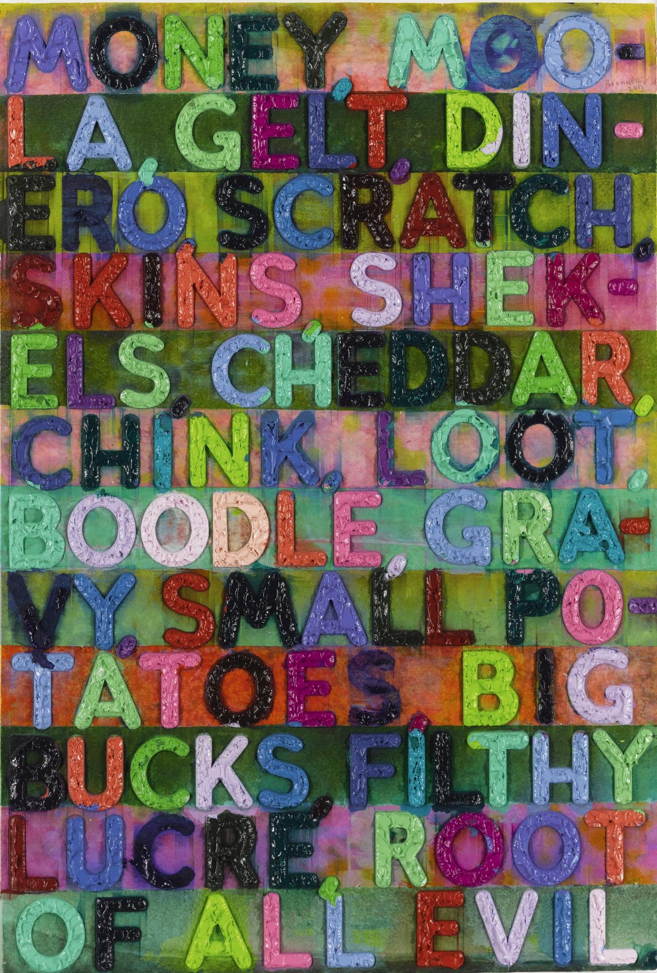 Mel Bochner-Money-2015