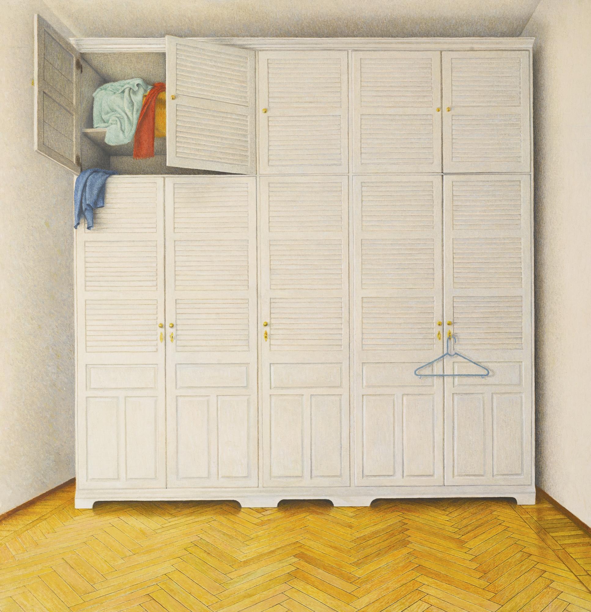 Bernardino Luino-The Wardrobe's Room-1987